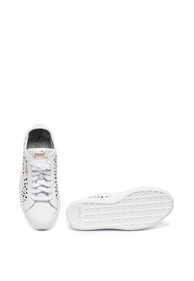 Puma Sneakers, Кожени спортни обувки Vikky Stacked Жени