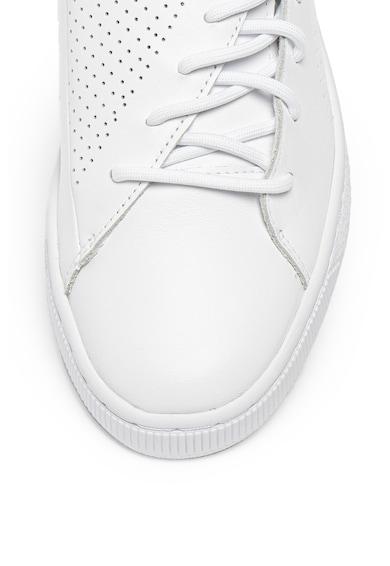 Puma Кожени спортни обувки Basket Crush Жени