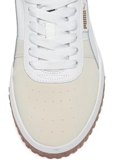 Puma Cali Exotic flatform sneaker bőrbetétekkel női