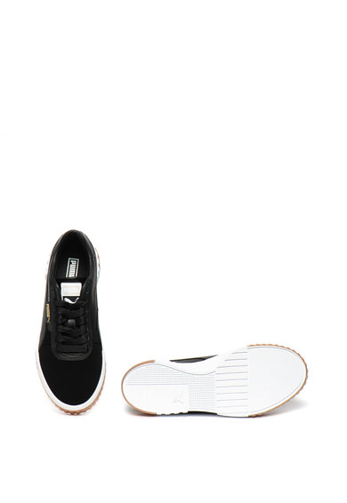 Puma Pantofi sport flatform cu insertii de piele Cali Exotic Femei