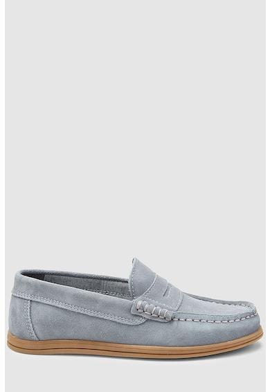 NEXT Pantofi penny loafer de piele intoarsa Baieti