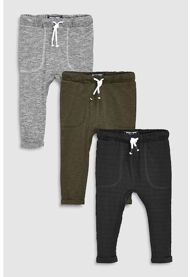 NEXT Set de pantaloni sport cu snur- 3 piese Baieti