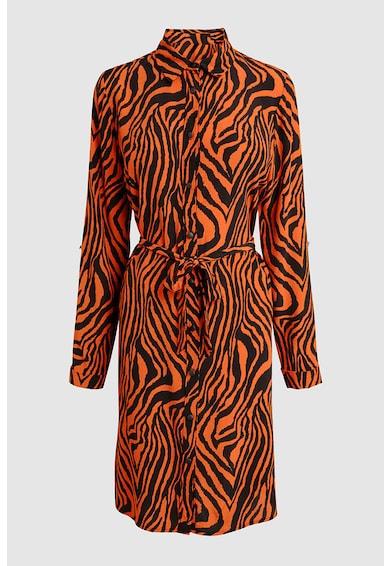 NEXT Рокля тип риза с животинска щампа Жени