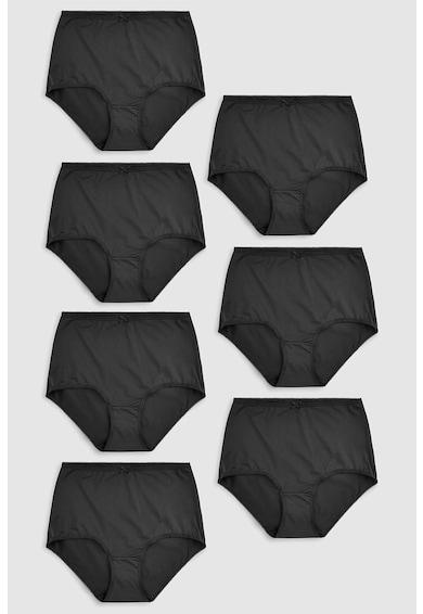NEXT Set de chiloti hipster cu talie inalta - 7 perechi Femei