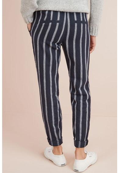 NEXT Pantaloni din amestec de in, cu model in dungi Femei