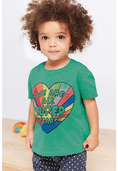 NEXT Feliratos póló Lány