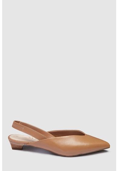 NEXT Кожени обувки с отворена пета Жени