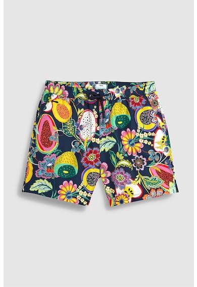 NEXT Pantaloni scurti de baie cu model tropical Barbati