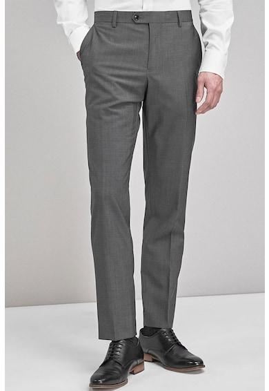 NEXT Pantaloni eleganti slim fit de lana Signature Barbati