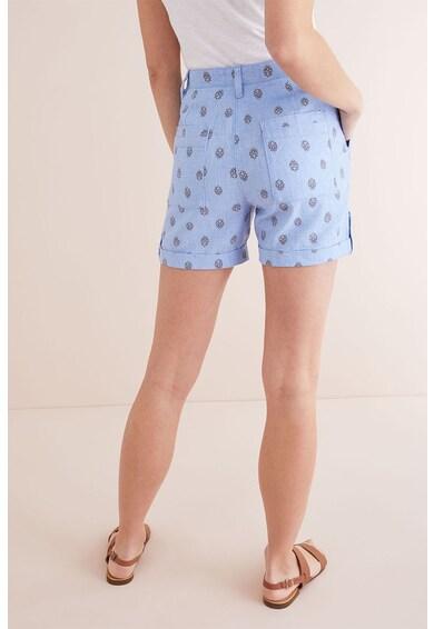 NEXT Lenvászon tartalmú mintás rövidnadrág női