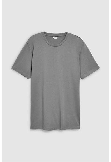 NEXT Tricou cu decolteu la baza gatului 16 Barbati