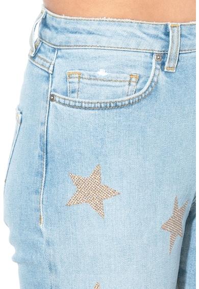 Pinko Blugi capri cu stele brodate Christie Femei