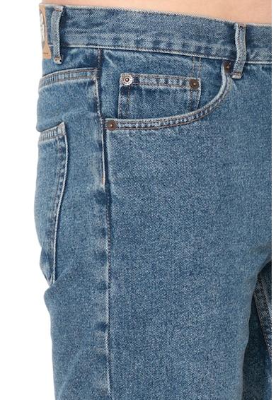 Cheap Monday Pantaloni scurti din denim cu aspect decolorat Sonic Barbati