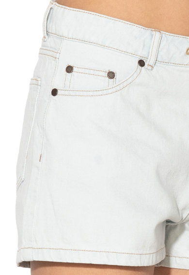 Cheap Monday Pantaloni scurti din denim cu snur pentru ajustare Streak0638872 Femei