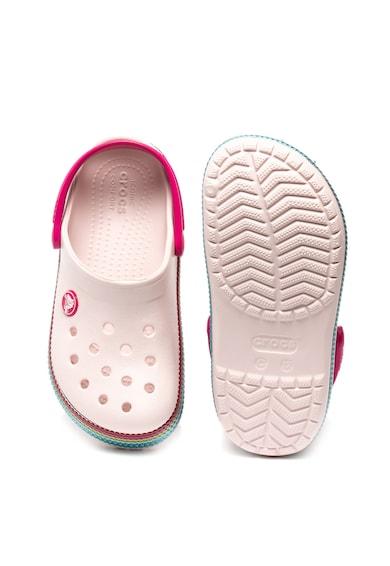 Crocs Сабо с отворена пета и пайети Момичета