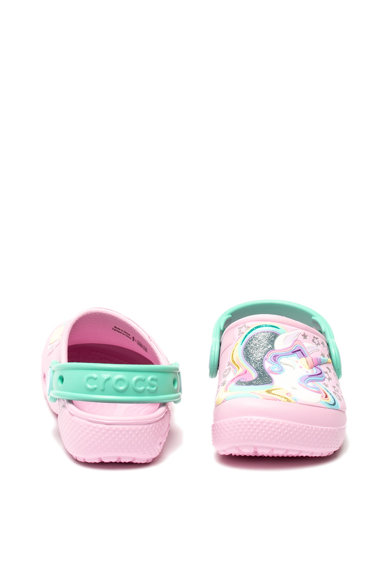 Crocs Saboti roomy fit cu imprimeu grafic Fete