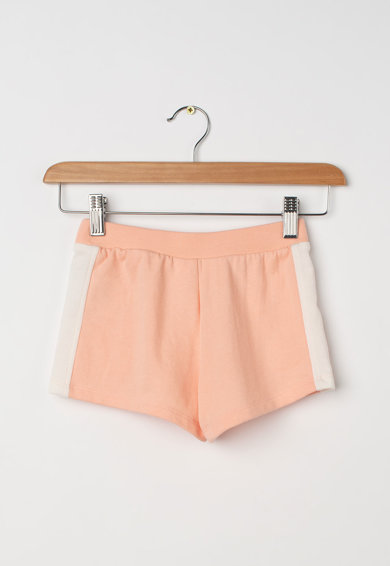 GAP Pantaloni scurti cu logo si dunga laterala Fete