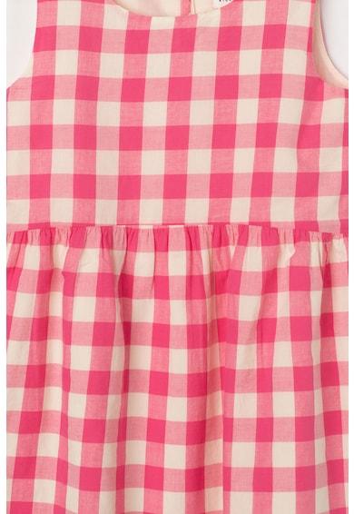 GAP Bővülő fazonú kockás ruha Lány