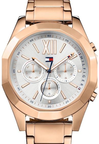 Tommy Hilfiger Кварцов часовник със стоманена верижка Жени