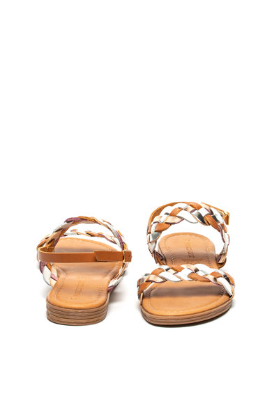 Marco Tozzi Sandale de piele cu aspect impletit Femei