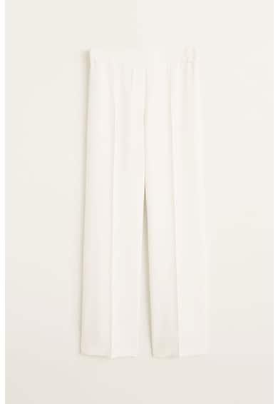 Mango Palachin bő szárú nadrág magas derékrésszel női