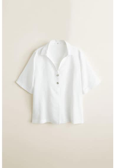Mango Pepi lenvászon ing női