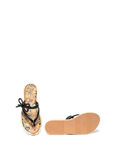 Melissa Papuci flip-flop din material cauciucat, cu model floral Femei