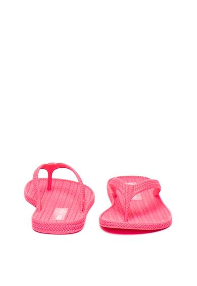 Melissa Papuci flip-flop din material cauciucat, cu aspect impletit Femei