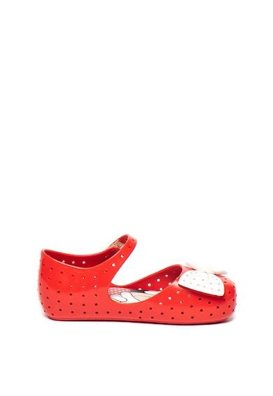 Melissa Pantofi Mary-Jane din material cauciucat, cu branturi cu amortizare Furadinha Fete