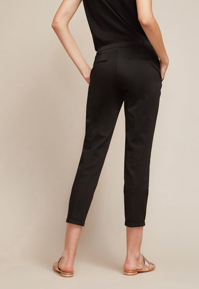 Oltre Pantaloni chino crop slim fit Femei