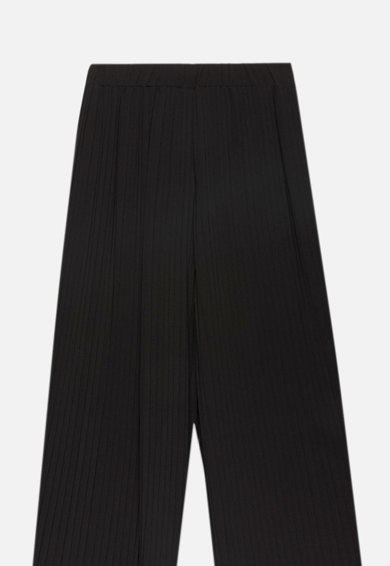 Motivi Bő szárú nadrág hajtásokkal női