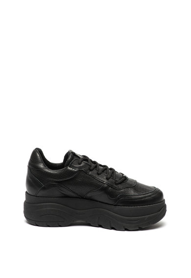 Steve Madden Pantofi sport de piele, cu talpa wedge Girla Femei