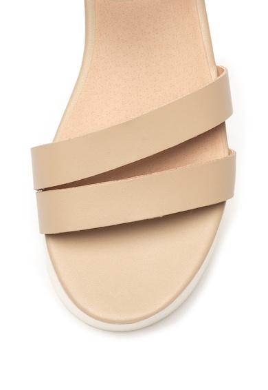 Steve Madden Кожени сандали Keykey със скосена платформа Жени