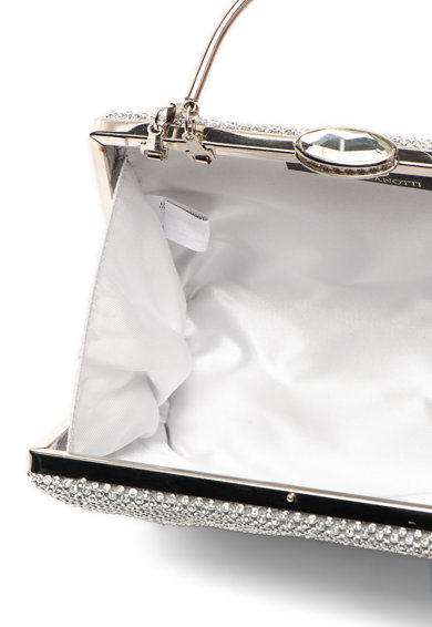 Chiara Canotti Малка чантичка с декоративни камъни и метална дръжка Жени