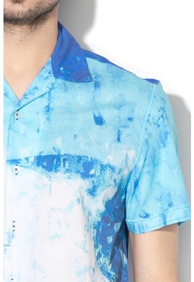 DESIGUAL Boone regular fit mintás ing férfi
