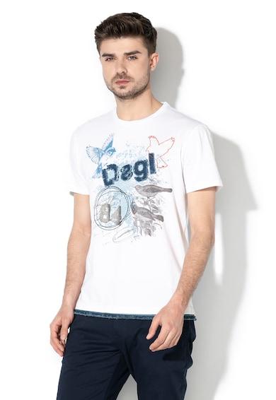 DESIGUAL Tricou cu imprimeu Conrad Barbati