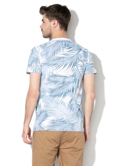 DESIGUAL Rever mintás póló gombokkal férfi