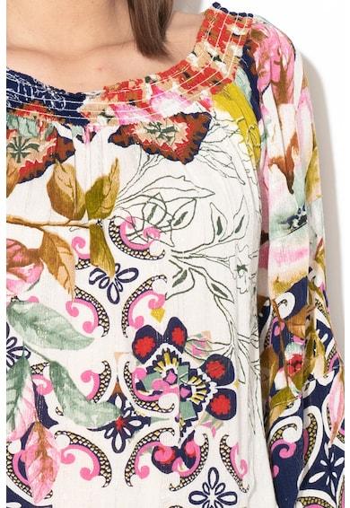 DESIGUAL Hidra virágmintás ejtett vállú ing női