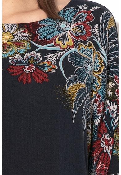 DESIGUAL Emma virágmintás lágy esésű blúz női