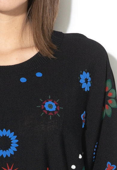 DESIGUAL Berna rövid ujjú pulóver női