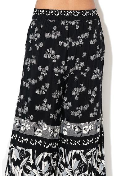 DESIGUAL Paola lágy esésű virágmintás culotte nadrág női