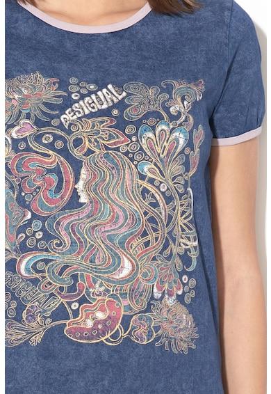 DESIGUAL Tricou cu imprimeu grafic Sheffield Femei