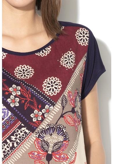 DESIGUAL Ganges virágmintás póló női
