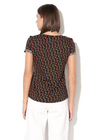 DESIGUAL Dilon logómintás póló női