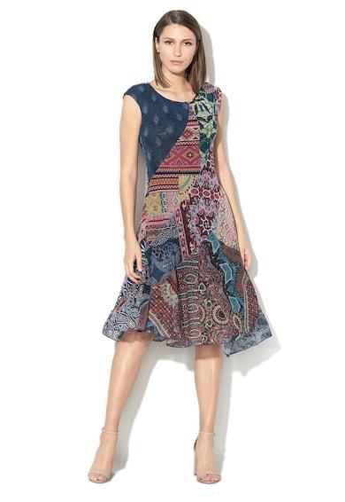 DESIGUAL Rasha mintás A-vonalú ruha női