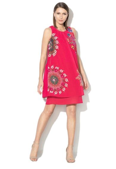 DESIGUAL Къса рокля Sacha с флорален десен Жени