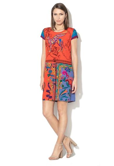 DESIGUAL Koda egyenes szabású ruha többféle mintával női