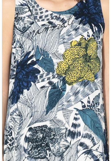 DESIGUAL Iowas virágmintás A-vonalú ruha női