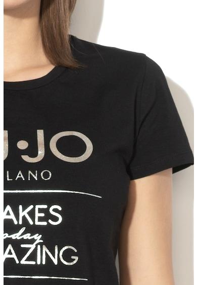 Liu Jo Logómintás póló női