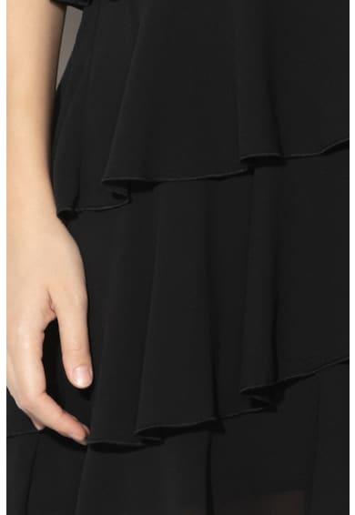 Liu Jo Fodros miniruha vékony pántokkal női